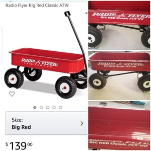 Wagon Sale: Radio Flyer Big Red for Sale in Chula Vista, CA