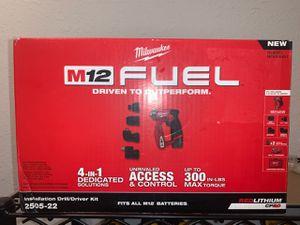 NEW M12 FUEL INSTALLATION DRILL / DRIVER KIT for Sale in Dallas, TX