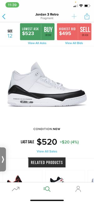 Jordan 3 retro for Sale in Rocklin, CA