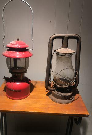 Antique glass kerosene Lamp for Sale in Columbus, OH