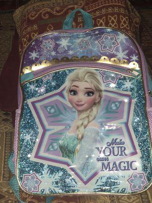 New backpacks Elsa, trolls shimmer shine, emoji, black panther for Sale in Las Vegas, NV
