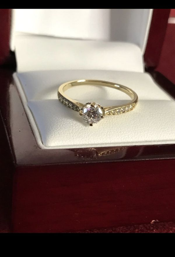 14k gold plated ring size 9