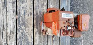 2 1/2 hp motor with gas tank side shaft runs strong no problems for Sale in Milford, CT