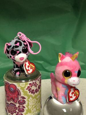 Ty Beanie Boo's fantansia & tacha clips for Sale in Dallas, TX