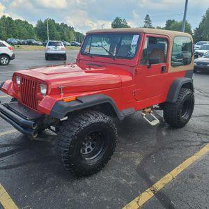 1992 jeep wrangler for Sale in Detroit, MI