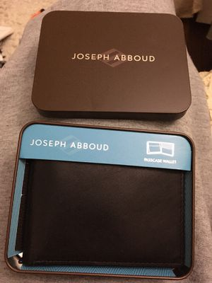 joseph abboth new leather wallet for Sale in Hoffman Estates, IL