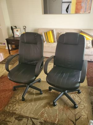 Office Chairs (2) for Sale in Laurel, MD