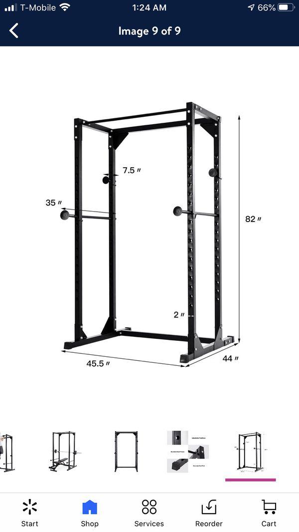 Goplus power rack