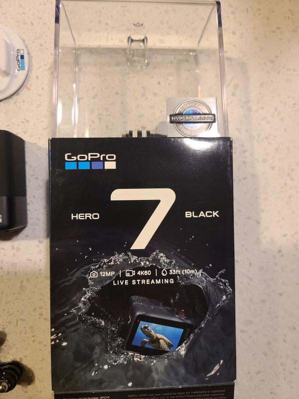 GoPro Hero 7 Black with accessories