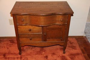 Antique Chest w/cupboard for Sale in Puyallup, WA