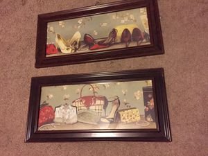 Pair of wall art (can be sold separately) for Sale in Temecula, CA