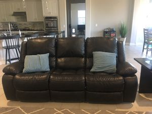 Leather Couch Set for Sale in Gilbert, AZ