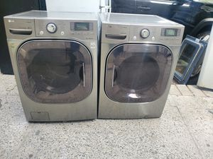 Lg washer and gas dryer set for Sale in The Bronx, NY