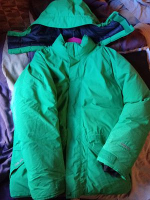 marmot rare lime green biggie need gone A.S.A.P NO FLAWS SIZE LARGE we can negotiate prices for Sale in PECK SLIP, NY
