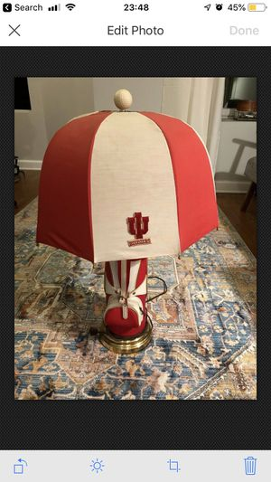 Vintage Indiana University Lamp for Sale in Chicago, IL
