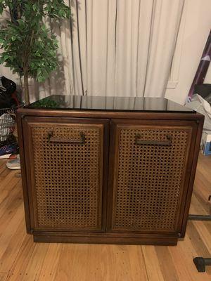 Mid Century Modern Sidetable Cabinet Dresser Bedstand Vintage for Sale in South San Francisco, CA