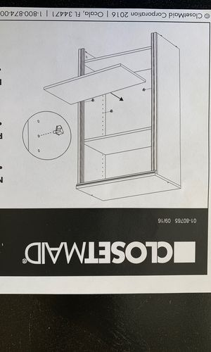 Closet Maid Additional Shelves. for Sale in Dallas, GA