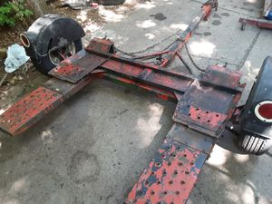 Tow dolly new tires new straps 400 cash for Sale in MI METRO, MI