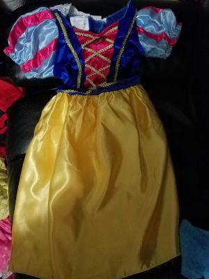 Snow white costume for girls for Sale in Houston, TX