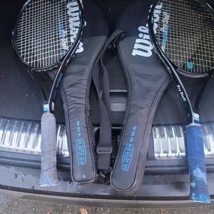 Wilson Prostaff Tennis Rackets for Sale in Lacey, WA