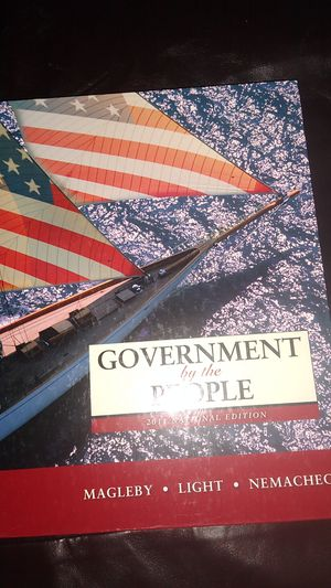 Government By The People TEXTBOOK for Sale in KINGSVL NAVAL, TX