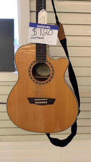 Fcp2344 Washburn guitar 🎸 with case for Sale in Houston, TX
