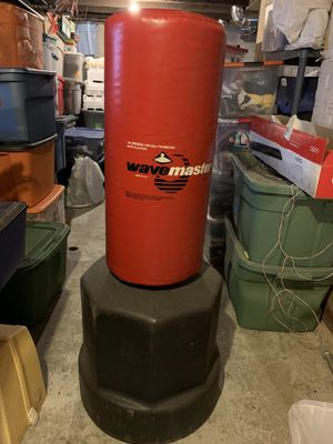 Wave master punching bag for Sale in Sandwich, IL