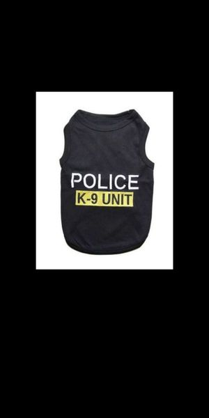 New. Dog/Cat K-9 T-Shirt . Size Large. for Sale in Corona, CA
