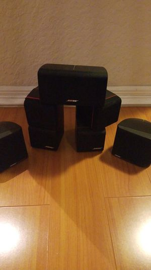 5 USED BOSE SURROUND SOUND SPEAKERS for Sale in Pompano Beach, FL