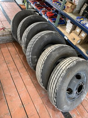 Trailer Wheels and tires (235/80R16) for Sale in Plano, TX