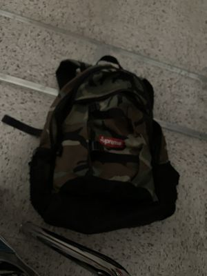 Supreme camo backpack for Sale in Upland, CA