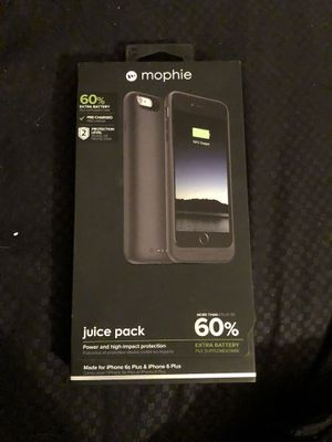 Mophie Juice Pack for iPhone 6/6S Plus for Sale in Holyoke, MA