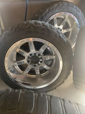 Fuel 20x12's for Sale in Tracy, CA