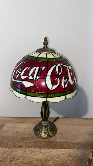Coca Cola lamp for Sale in Puyallup, WA