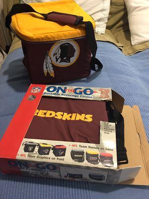 Two NFL redskins portable beverage cooler for Sale in Herndon, VA