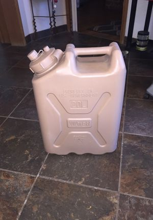 Scepter Canada 20L (5 gals) bpa water container. Like new. Sells for 52.$ on amazon. for Sale in Fresno, CA