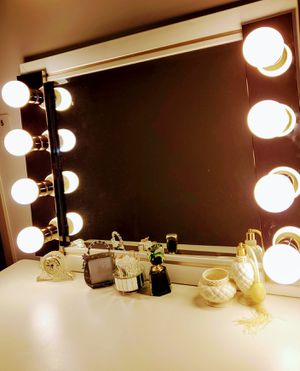 Professional Makeup Vanity Mirror - Hollywood LED Bedroom Vanity Mirror @@@# FREE DELIVERY $150 for Sale in Chicago, IL