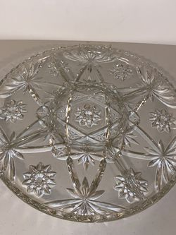 Glass party tray for Sale in Dinuba,  CA