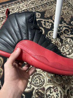 Jordan 12 Flu Game Size 12 for Sale in Hyattsville,  MD