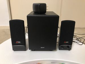 Gigaware 2.1 Multimedia Speakers 8 Watts for Sale in San Francisco, CA
