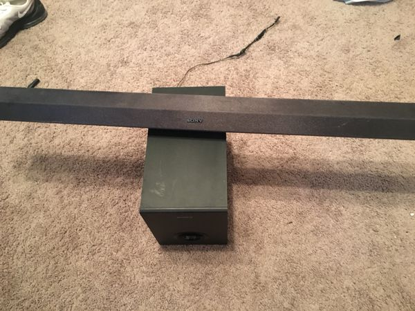 Sony blue tooth sound bar and sub speaker