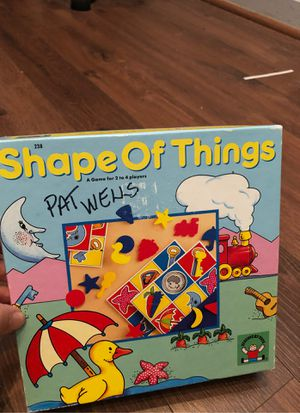 Shape of things game - by discovery toys - matching, preschool. Homeschool for Sale in Buckeye, AZ