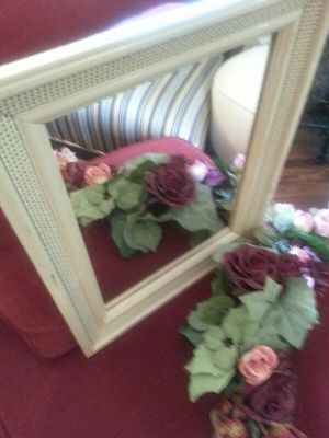 20x16 Highly distressed mirror, accent wall mirror. wall decor for Sale in St. Louis, MO