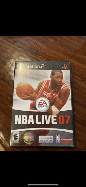 "PS2 NBA live ""07"" for Sale in Orlando, FL"