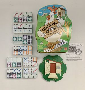 2003 Fundex Chicken Coop Dominoes Game for Sale in Torrance, CA