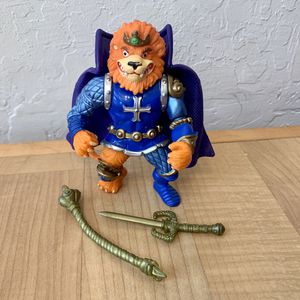 Vintage 1992 Teenage Mutant Ninja Turtles Rat King Lion Heart TMNT Action Figure Toy Near Complete - Missing One Of His Accessories for Sale in Elizabethtown, PA