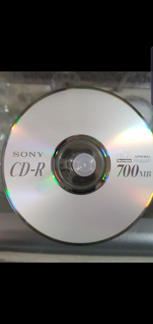 Sony CD-R 700 (85 count) for Sale in Colton, CA