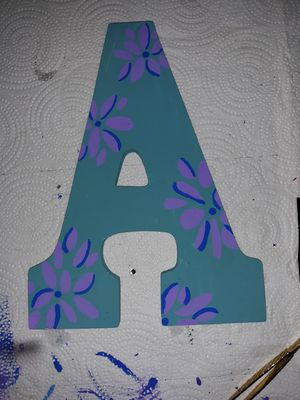 Painted Letter for Sale in DeSoto, TX