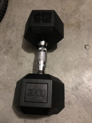 30 Lb dumbbell for Sale in Chula Vista, CA