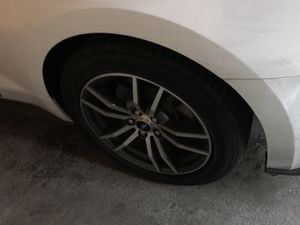 2016 Ford Mustang rims and tires for Sale in New York, NY
